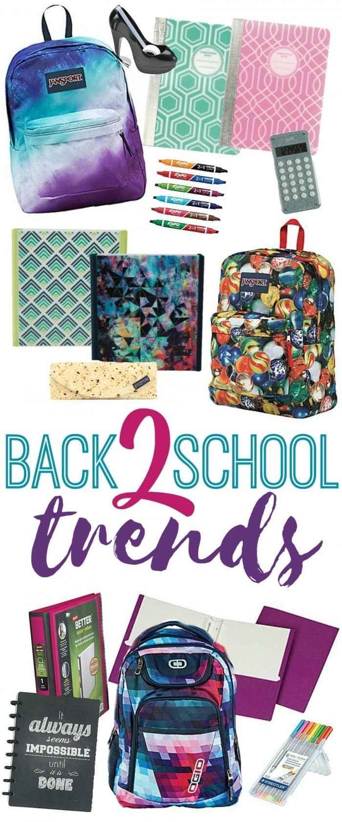 Back to School Trends and Styles