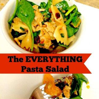 The EVERYTHING Pasta Salad Recipe
