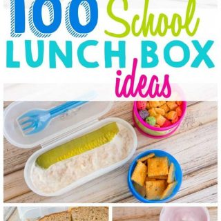 100 Mix-and-Match School Lunch Box Ideas