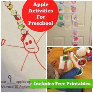 10 Apples Up on Top Preschool Activities