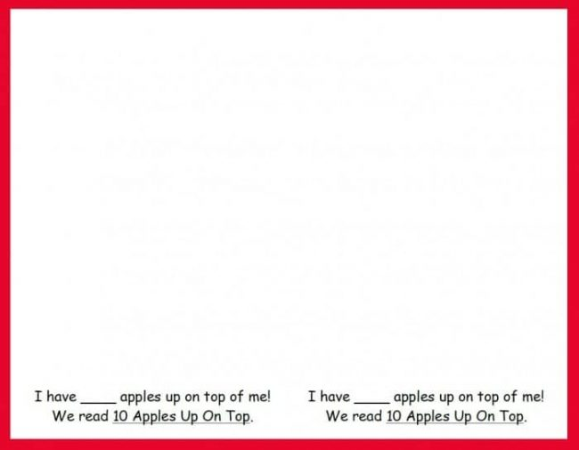 Apples-On-Top Printable