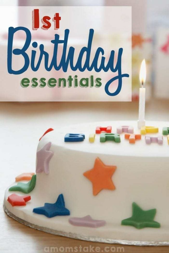 Getting ready to celebrate baby's first birthday? You'll want these 1st bday party essentials ready including a smash cake and birthday girl or boy outfit!
