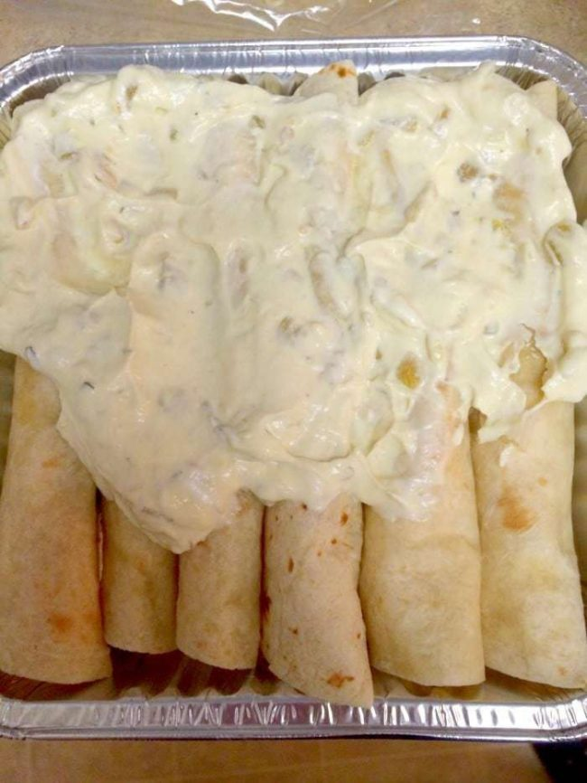 Sour Cream Enchiladas 6