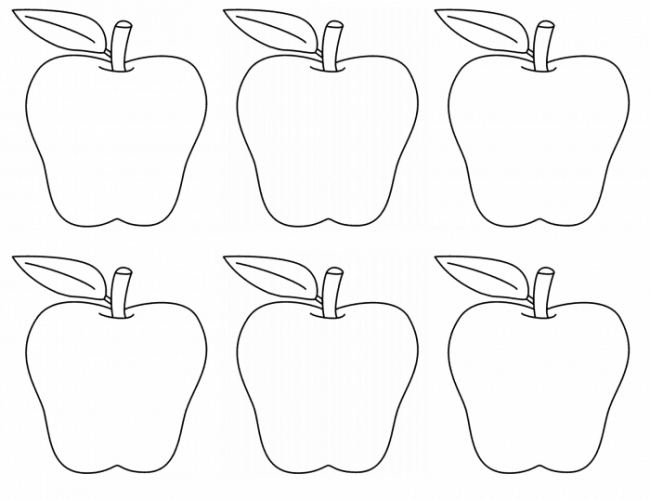 Apple Themed Coloring Pages : Apples up on top preschool activities a mom s take