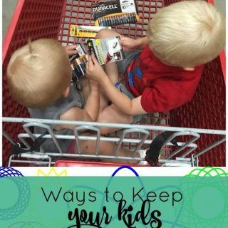 Way to Keep Your Kids Entertained While Shopping + Giveaway