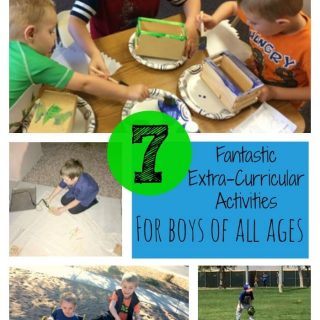 7 Fantastic Extra-Curricular Activities for Boys #scouting