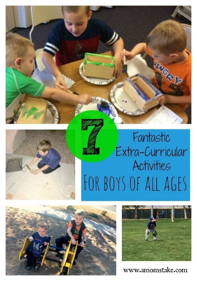 7 great extra-curricular activities for all ages! A great list to get your child active and involved. #scouting #Ad