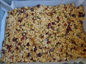 Cranberry Granola Cereal Bar
