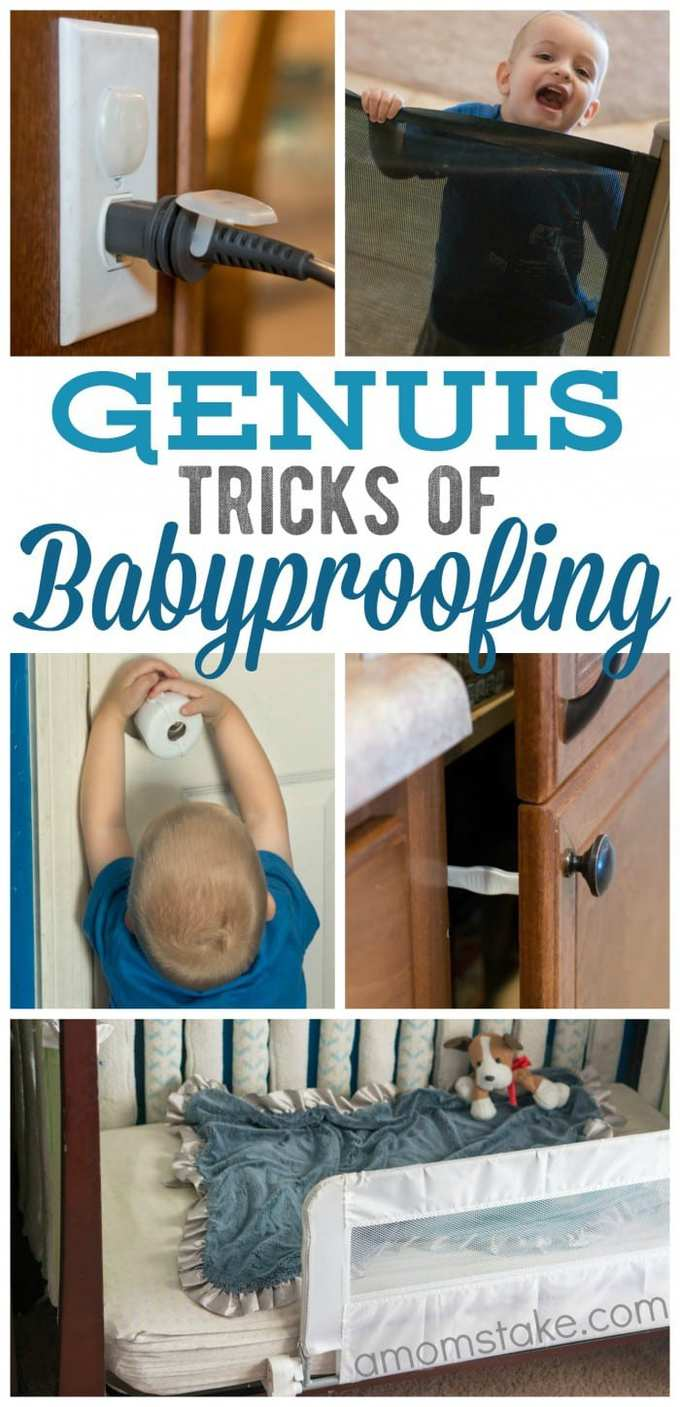 Genius Tricks of Babyproofing