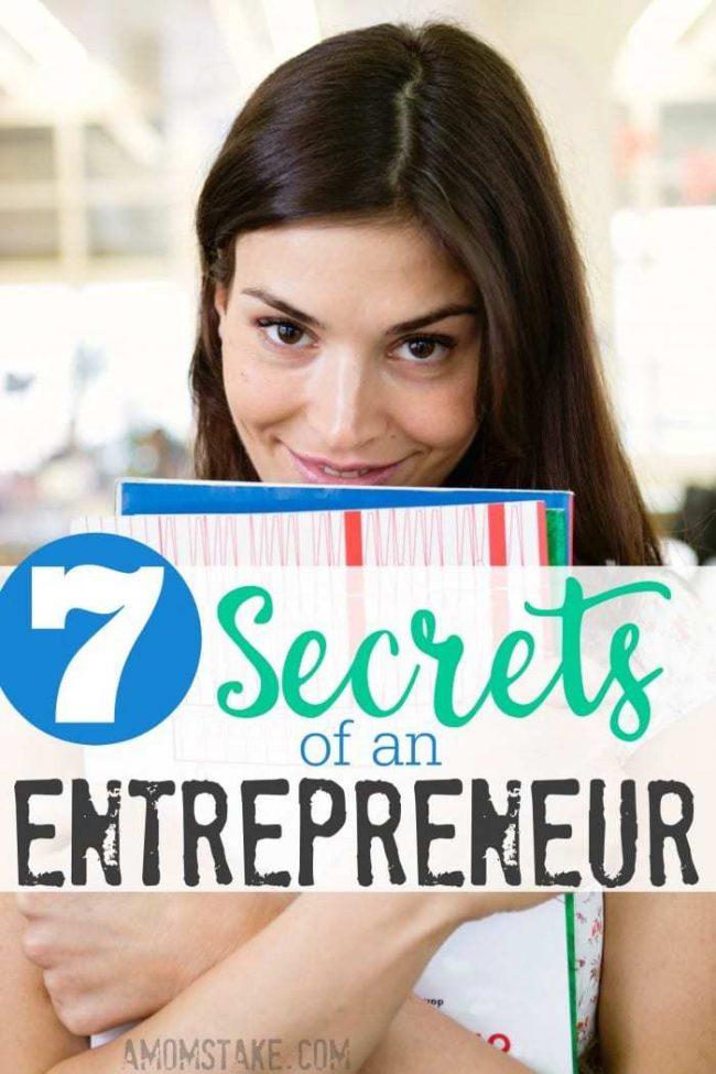 Secrets of an Entreprenuer