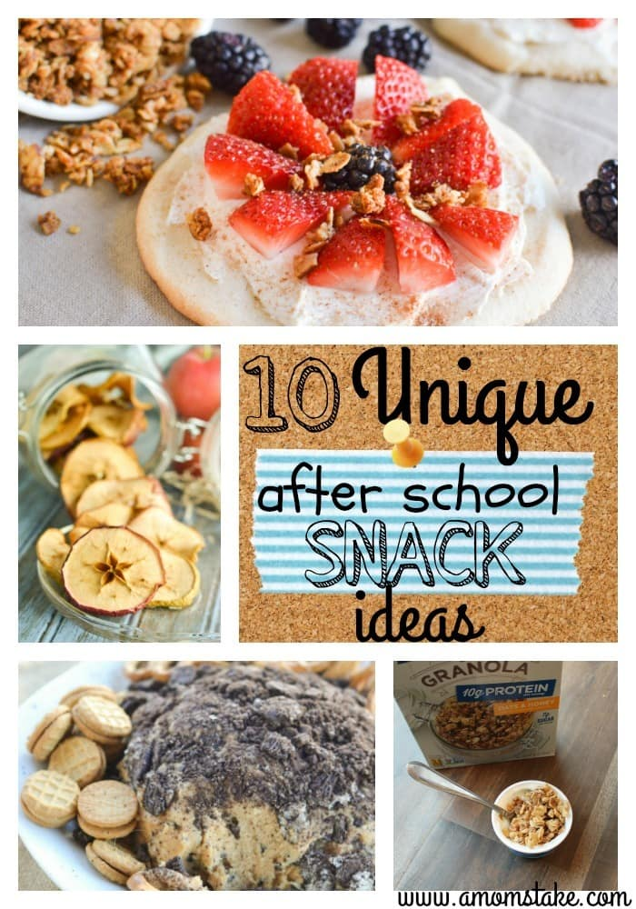 10 Unique After School Snack Ideas A Mom S Take