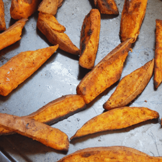 Baked Sweet Potato Wedges Recipe