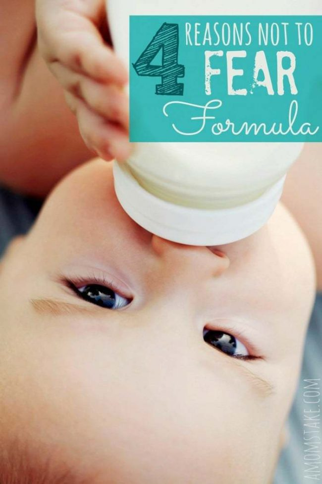 4 Reasons you don't need to fear formula feeding.
