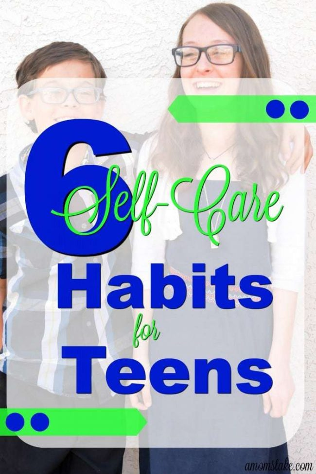 These 6 self-care habits are a definite must for any teen. Be sure you are teaching your teen the hygiene skills they will need.
