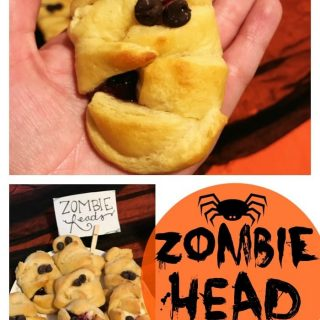 Halloween Brunch Recipes – Zombie Cream Cheese Danish