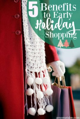 5 Benefits to Early Holiday Shopping + Giveaway