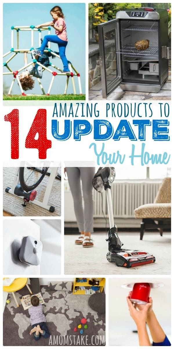 7 Awesome Products to update your home - make your home smarter or easier to manage or improve the safety - lots of ideas for home improvement!