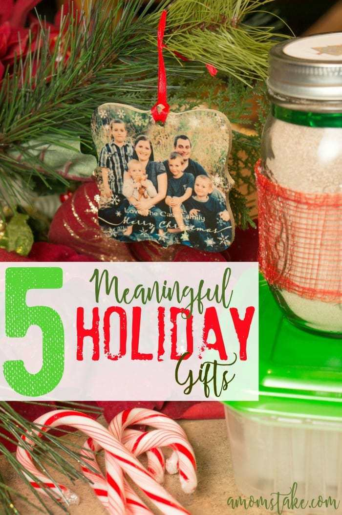 Meaningful and easy holiday gift ideas