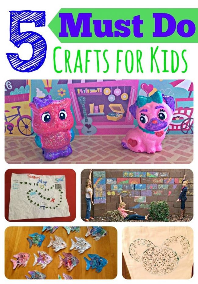 Fun, easy, crafts kids can do themselves @RoseArt #Ad