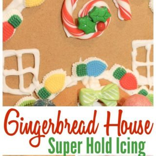 Super Hold Gingerbread House Icing