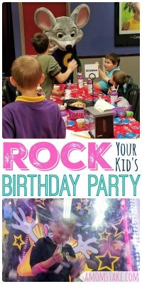How to Rock Your Child's Next Birthday Party!