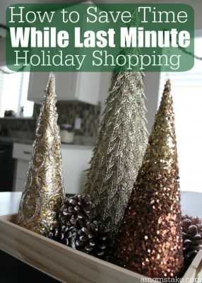 How to Save Time While Last Minute Holiday Shopping + Giveaway