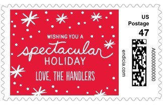 spectacular_snow-personalized_postage_stamps-robyn_miller-bright_red-red