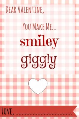You Make Me Laffy Printable Valentine