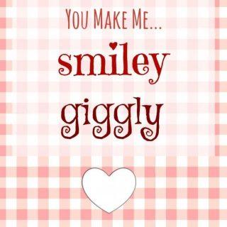 You Make Me Laffy Printable Valentine