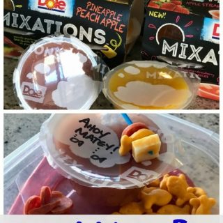 Creative Lunch Ideas with DOLE Mixations