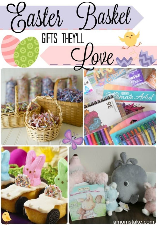 Easter basket gifts theyll love a moms take great easter basket gift ideas for the whole family negle Gallery
