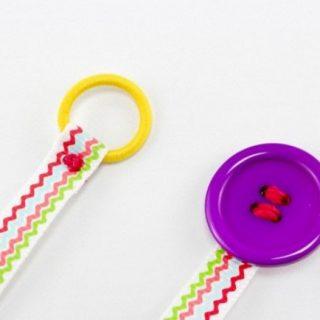Easy DIY Ribbon Bookmarks