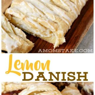 Easy Lemon Danish Breakfast Recipe