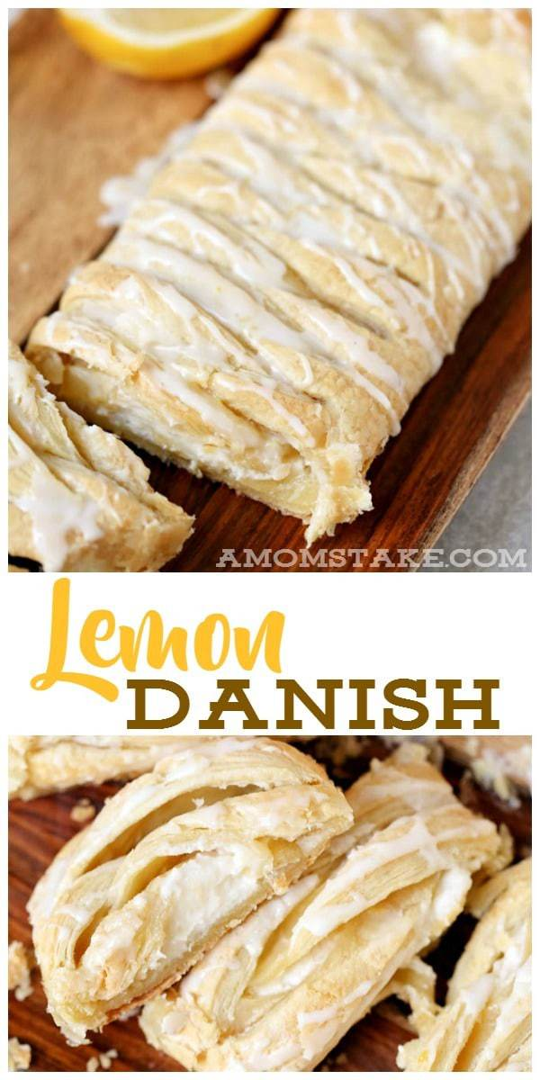This lemon danish is so delicious, you won't believe the scrumptious flavor of this amazing recipe! One bite and you'll be hooked!