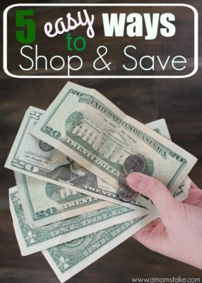 5 Easy Ways to Shop and Save + Giveaway