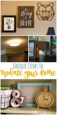 Unique Items to Easily Upgrade Your Home