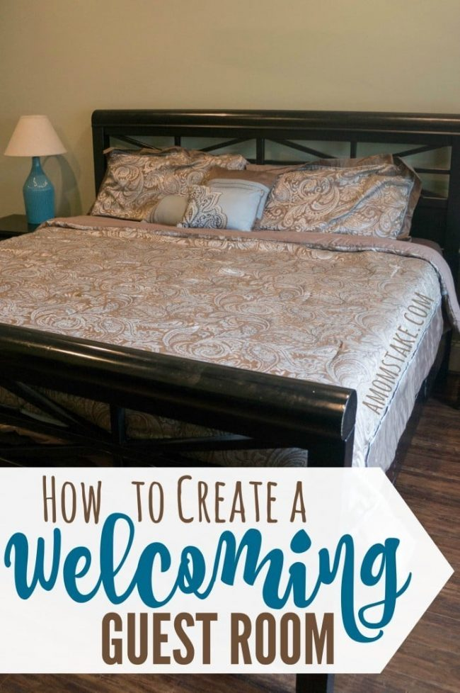 Simple Tips On How To Create A Welcoming Guest Room For Your Visitors. Good Looking