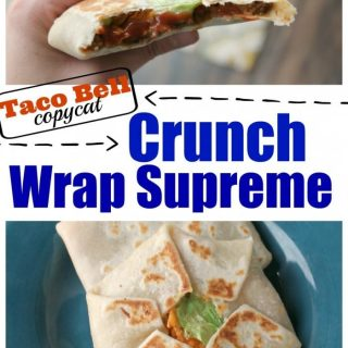 Homemade Crunch Wrap Supreme Recipe