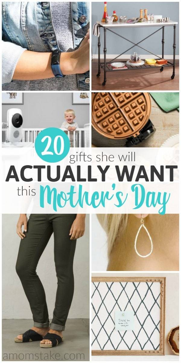 No matter who you're shopping for, this irresistible list of ideas includes 20 gifts she will actually want for Mother's Day this year!