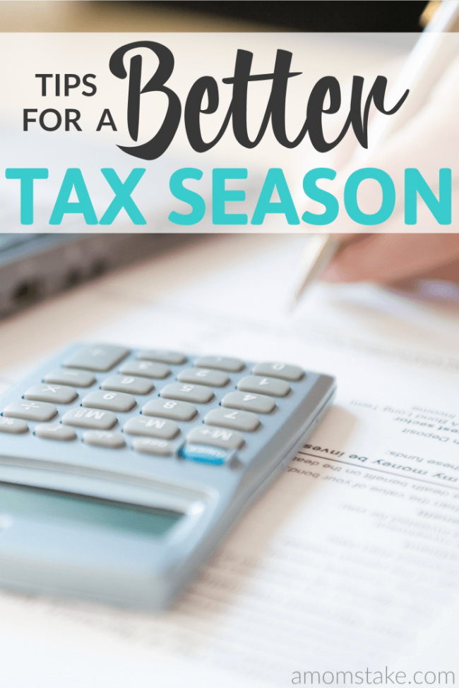 We're loving these tips to help get through the stress and the hustle of a busy tax season. They're making our taxes easier and helping us stay organized.