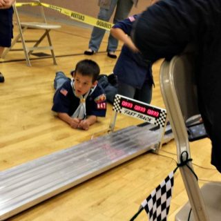 Why all boys should try a Pinewood Derby