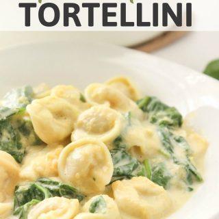 Creamy Squash & Spinach Tortellini