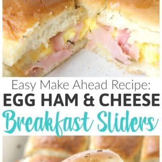 Ham Egg and Cheese Breakfast Sliders