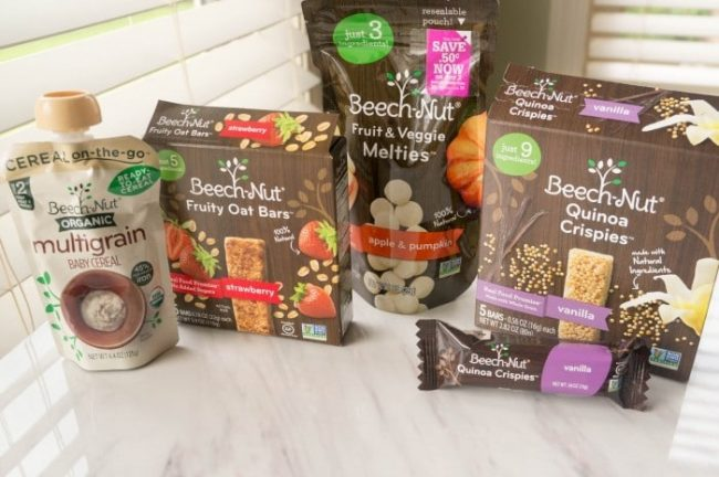 beech-nut snacks