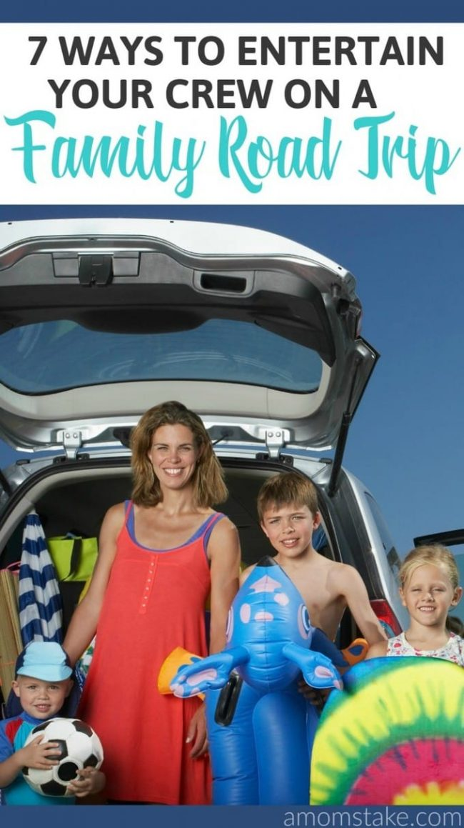 Fun ideas for your next family road trip that will keep everyone entertained! These perfect travel activities and games will keep the kids and adults happy!