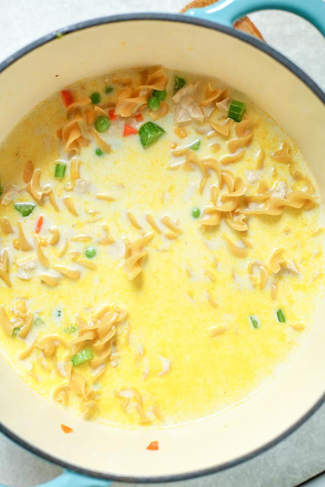 noodles pot pie