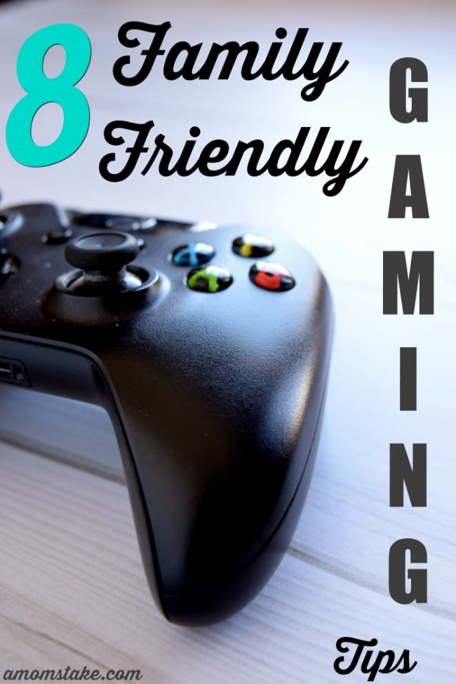 Technology seems to be taking over my kid's lives. Make gaming more family friendly with these 8 tips.