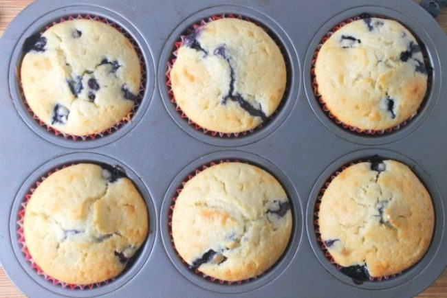 Blueberry Muffins Recipe Sour Cream