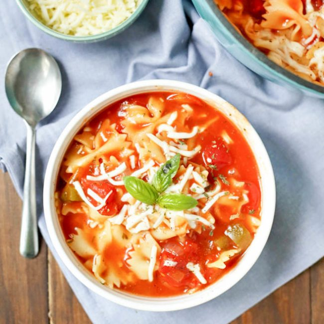 lasagna soup dinner recipe