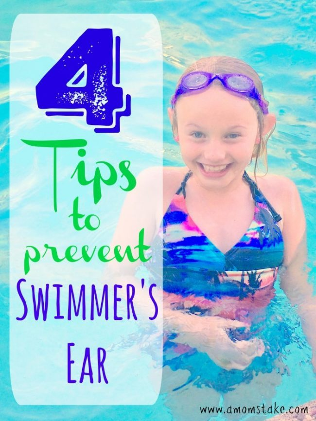 Don't let Swimmer's Ear stop your summer fun! 4 great tips to keep your ears healthy and dry this season #AD #CVS #FindYourHealthy